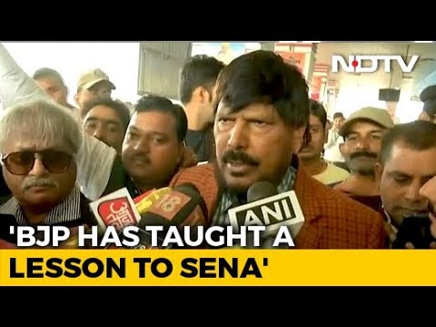 'Sena Taught A Lesson By BJP': Ramdas Athawale On Maharashtra Government
