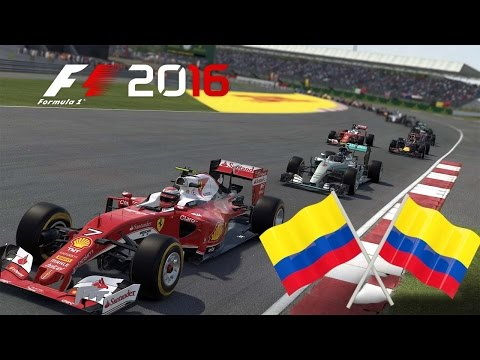 Australia GP (Onboard) - F1 2016 TORNEO [PS4] COLOMBIA