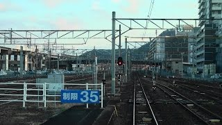 札幌発上野行き上り寝台特急「カシオペア」12号車ラウンジカーからの...
