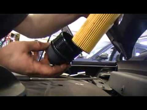 How do you change the oil filter on a 2012 dodge grand caravan
