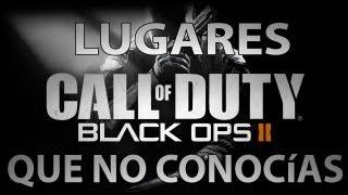 Lugares Que No Conocías en Black Ops 2