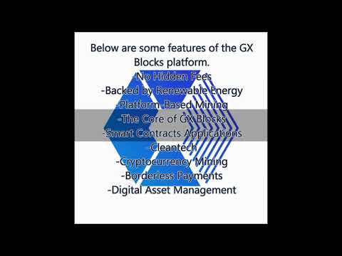 GX BLOCKS - NEW MINING OF BTC