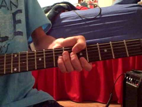 how to play the happy birthday song on electric guitar