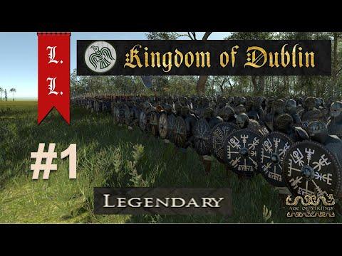 Kingdom of Dublin campaign #1 - Age of Vikings - Attila mod