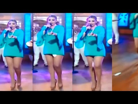 Mexican Singer's Sanitary Pad Falls Out Mid Performance