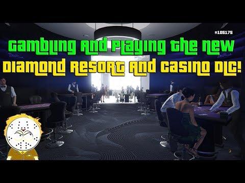 GTA Online Gambling And Playing The New Diamond Casino And Resort DLC