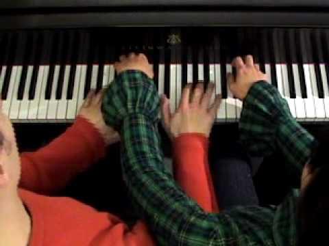 """Anderson & Roe Piano Duet play """"BLUE DANUBE FANTASY"""""""
