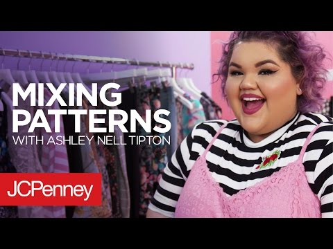 3 Plus Size Summer Outfits: Mixing Patterns with Ashley Nell Tipton