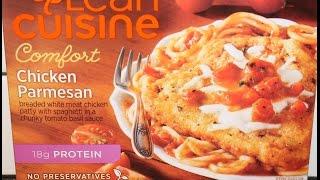 Lean Cuisine Chicken Parmesan Review Youtube