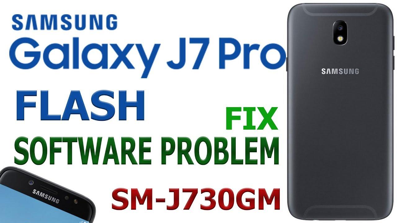SAMSUNG GALAXY J7 PRO FLASH