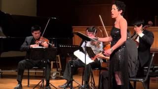 Ann Moss and The Hausmann Quartet: String Quartet #2 Opus 10 (Arnold Schoenberg)
