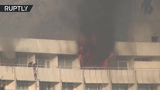 Пять человек погибли в результате захвата заложников в отеле Кабула