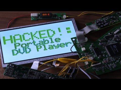 HACKED!: Portable DVD Player