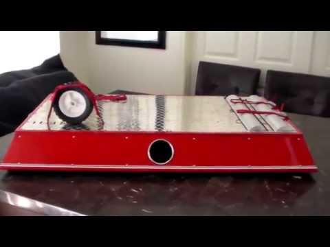 1/4 Scale & 1/5 Scale RC Car And Truck Roller Dyno Test Stand