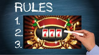 How To Play Online Slots - The Basic Rules of Video Slots