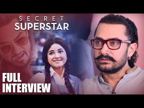 Aamir Khan | Secret Superstar | Full Interview | Thugs Of Hindostaan