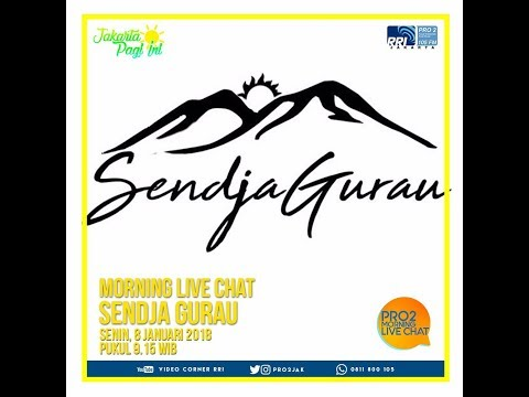 Sendja Gurau - Morning Live Chat Pro 2 FM Jakarta (Video Corner RRI)