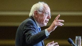 Bernie Sanders campaigning in California ahead of primary