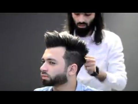 New Style - How To Cut A Modern Haircut and Beard | Step by Step Tutorial