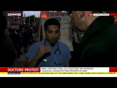 Junior Doctor Smashes Jeremy Hunt's Media Lies #ImInWorkJeremy