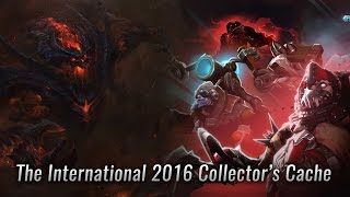Dota 2 The International 2016 Collector's Cache Chest Opening