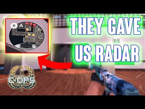 HE GAVE US RADAR - CRITICAL OPS RANKED - SPECIAL OPS GAMEPLAY