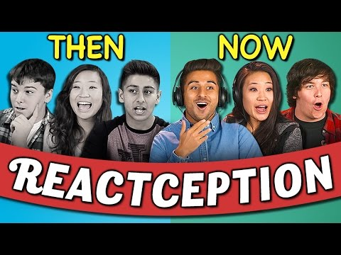 Thumbnail: COLLEGE KIDS REACT TO THEMSELVES ON TEENS REACT