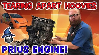 The CAR WIZARD tears into Hoovies' Damaged Prius 4-cylinder