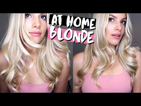 ALL ABOUT MY HAIR ♡ At-home BOX DYE BLONDE, DIY oil treatment, favorite products etc!