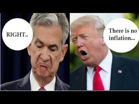 "WHAT! President Trump AND The Federal Reserve Say: ""THERE IS NO INFLATION."" By Gregory Mannarino"