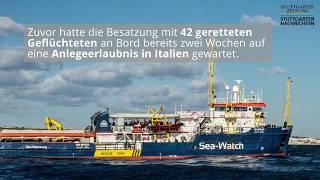 Zehn Fakten zu Carola Rackete und der Sea Watch 3