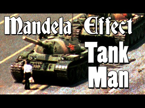 Mandela Effects - Tiananman Square's Tank Man