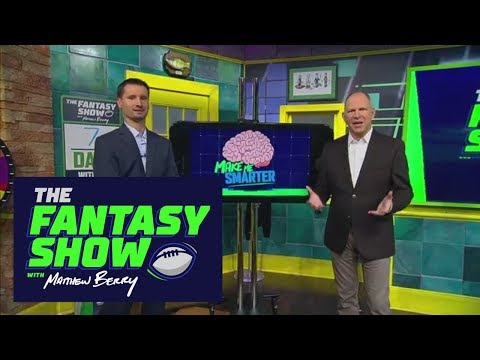 Make me smarter: Easiest WR schedules | The Fantasy Show With Matthew Berry | ESPN