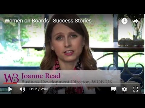 Hear first hand how other members have achieved success - available on the WOB website