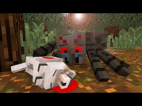 Spider Life I - Minecraft Animation