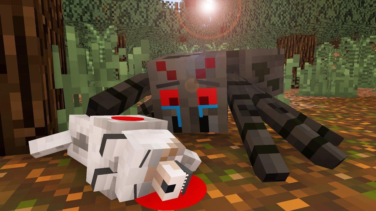 Spider Life I - Minecraft Animation - YouTube