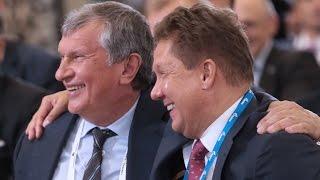 Дворцы для Путина , Роснефть , Сечин .