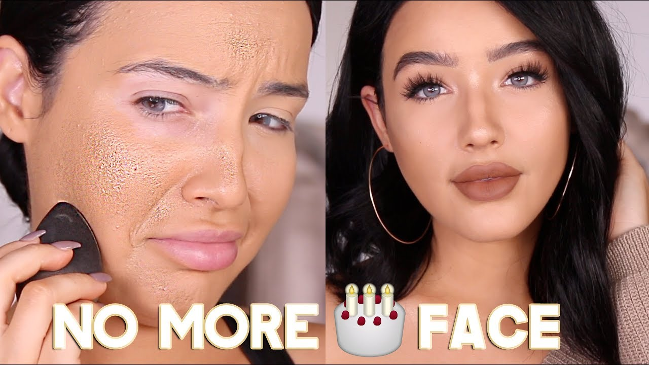 HOW TO AVOID CAKEY MAKEUP &