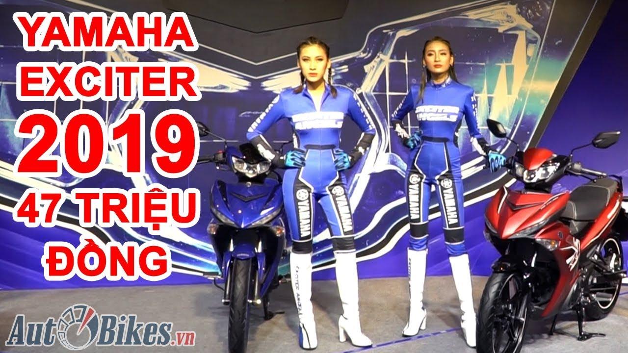 Yamaha Exciter 2019 giá 47 triệu đồng. Không động cơ 155 hay ABS