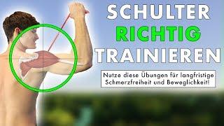 Schultertraining ABER Richtig! | Workoutroutine für gesunde Schultern (+ Trainingsplan)