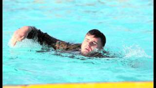 U.S. Marines new swim qualification - Cpl. Brandon Wost