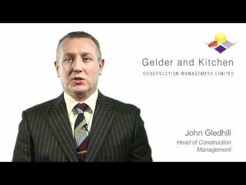 John Gledhill, Head of Construction Management, Gelder and Kitchen Construction Consultants