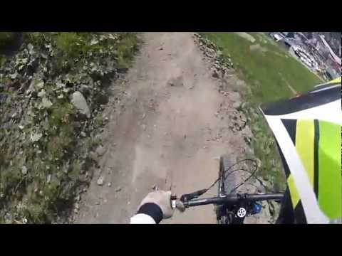 last ride of the day 30.06.2012 (bikepark planai)