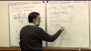 Ускорения и силы в системе тел, связанных нитями. 1