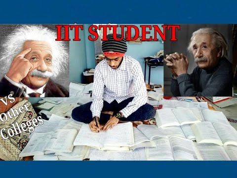 IIT Colleges VS Other Normal Colleges || Types of Students Before  EXAM
