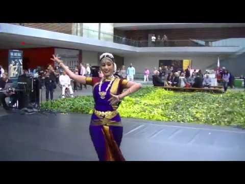 More Bharatanatyam dance from Krithika Rajkumar at Cleveland Museum of Art