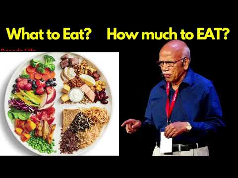 What You Should EAT? How Much To Eat? Relation of DIET & SLEEP Dr. B M Hegde