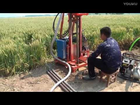 Portable hydraulic water well drilling machine for Philippines market