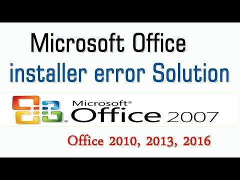 Microsoft Office Error During Setup Solution
