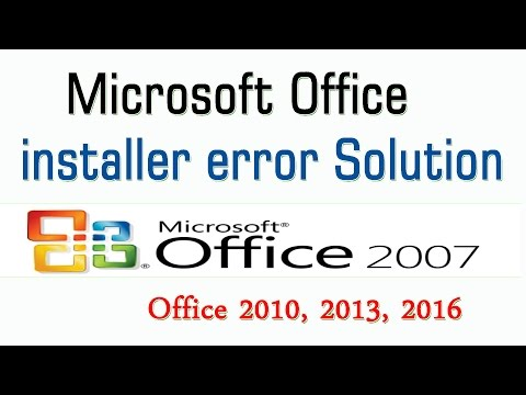 Microsoft Office Error During Setup Solution